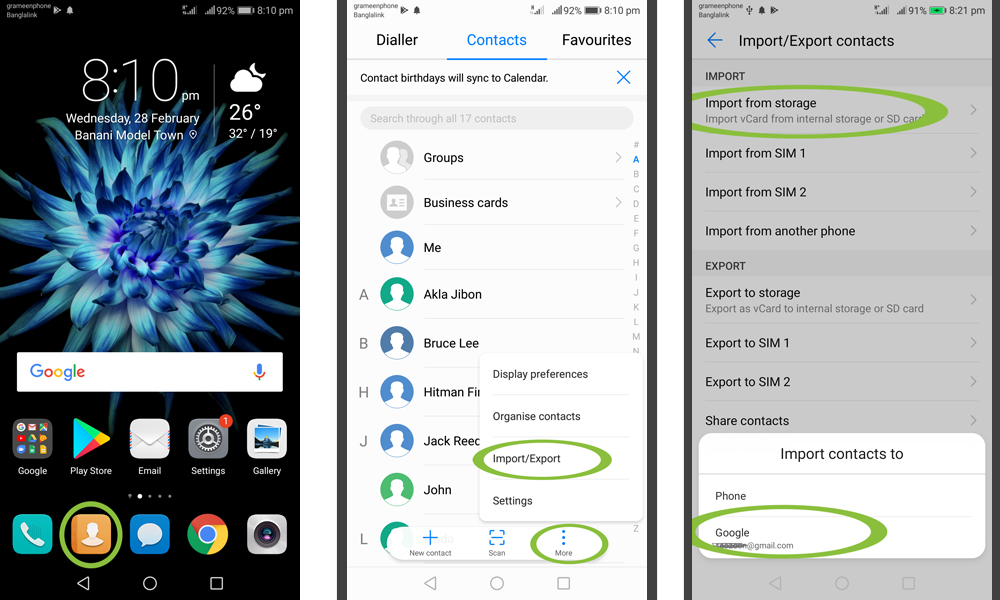 How To Backup Contacts From Android