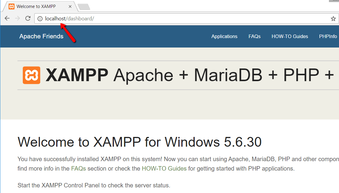 How to install WordPress On XAMPP
