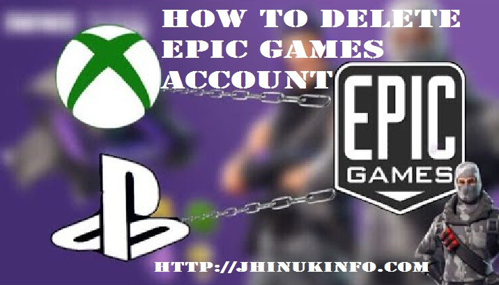 How To Delete Epic Games Account