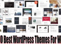 Top 10 Best WordPress Themes For Writers