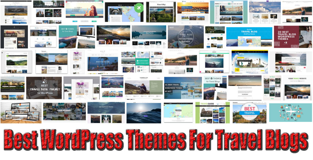 20+ Best WordPress Themes For Travel Blogs