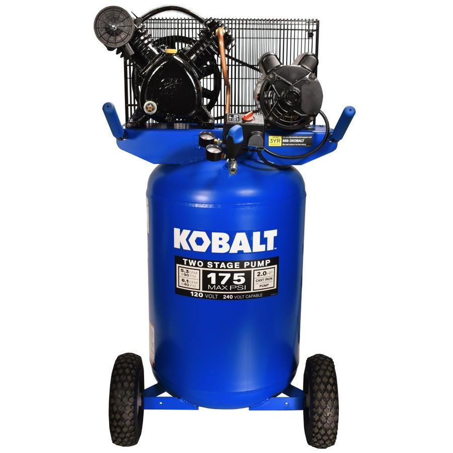 Kobalt Air Compressor & Central Pneumatic Air Compressor